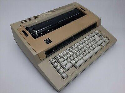 Vintage Tan Ibm Actionwriter 1 Electric Typewriter 6715-001 Tested Works Great