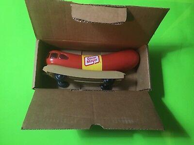 *Oscar Meyer** Weinermobile Hot Dog Car Bank Vintage Old Food Weiner Advertising