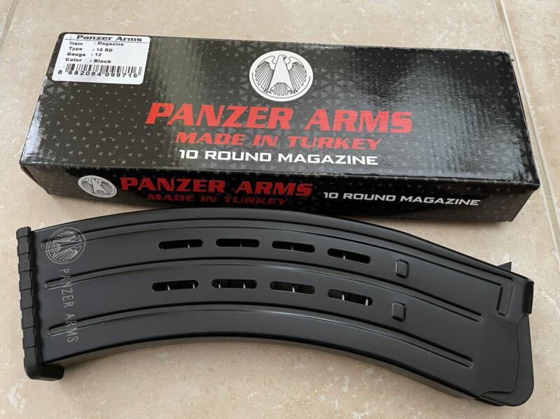 Panzer Arms 12 Gauge 10 Round Factory New Magazine 12GA BP-12