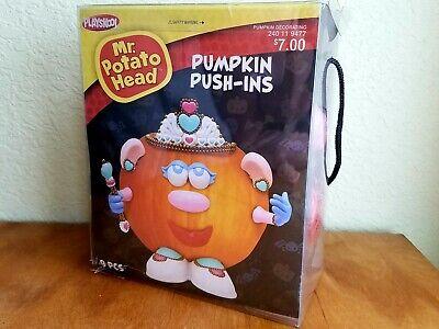 Potato Head Halloween Costume (Halloween Mr Potato Head Pumpkin Push In Princess Costume 9 Parts NIB *See)
