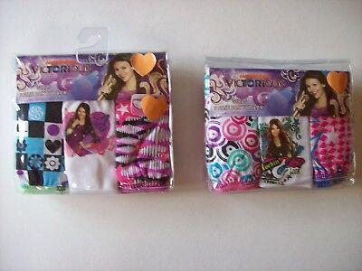 Victorious Underwear Underpants Girls 3 Pair Panty Pk 2 4 6 8 Nickelodeon ()