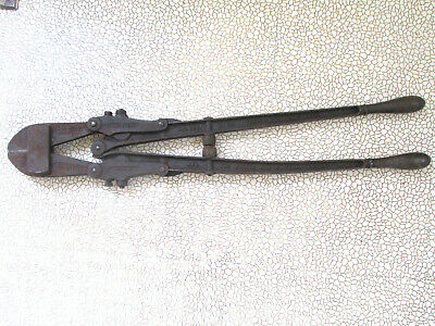 Vintage 30 Bolt Cutter 2 Porters Clipper New Easy 1892 Lock Mechanic Tool