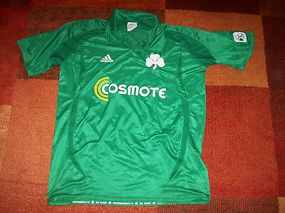 2008 2009 Panathinaikos Centenary Adults XL Football Shirt Greece Top