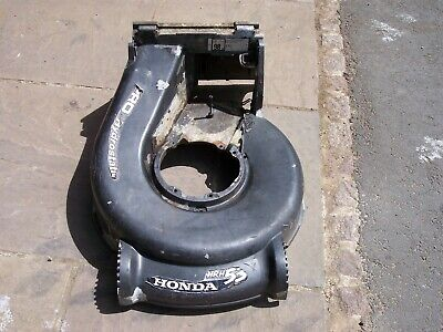 Honda HRH536 HXE Deck 4 Wheel version.