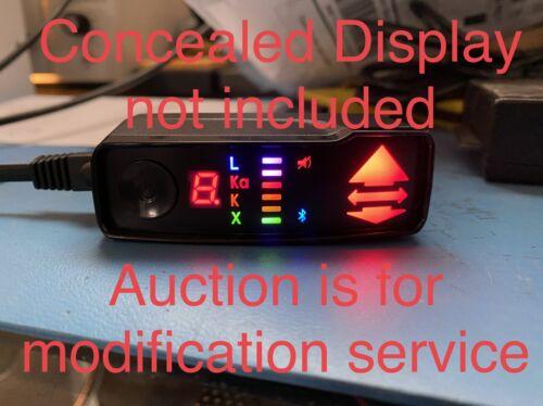 как выглядит COLOR LED Valentine One Gen 2 Concealed Display Radar, Strength , Arrow SERVICE фото