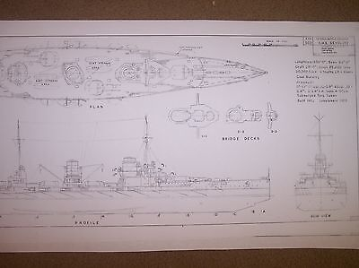 SMS  SEYDLITZ ship plans