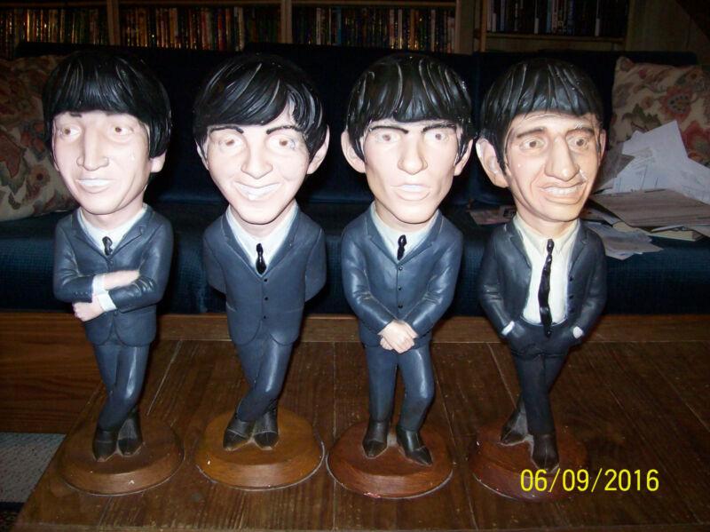 Collectibles-4 Esco Beatles Statues