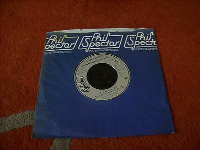 "NILSSON AND CHER - a love like yours 7"" single 1975 ...u.k issue phil spector"