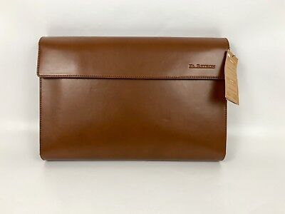 El Retron Tablet Pouch Sleeve Bag ~12 inch Vintage Leather Style Brown