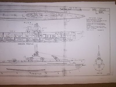 USS GATO ship boat model boat plan