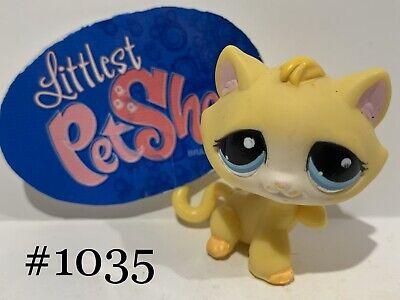 Authentic Littlest Pet Shop - Hasbro LPS - SHORTHAIR CAT #1035