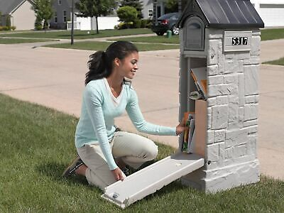 Mailbox Large Security Mail Box Post Safe Secure Locking Lockable Lock Storage