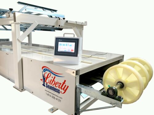 "SS4E PRO standing seam roof panel machine 1.75"" snap lock profile"