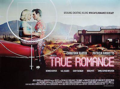 "True Romance 16"" x 12"" Reproduction Movie Poster Photograph"