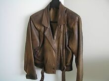 Ladies Leather and Suede Jacket Dianella Stirling Area Preview
