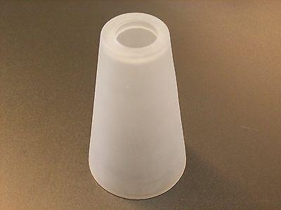 Glas Lampenschirm Ersatzglas Kegel mattglas E14 Lochmaß Fassung ø 30mm