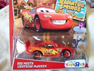 Disney Pixar Cars  - Bug Mouth Lightning McQueen - ToysRUs exclusive