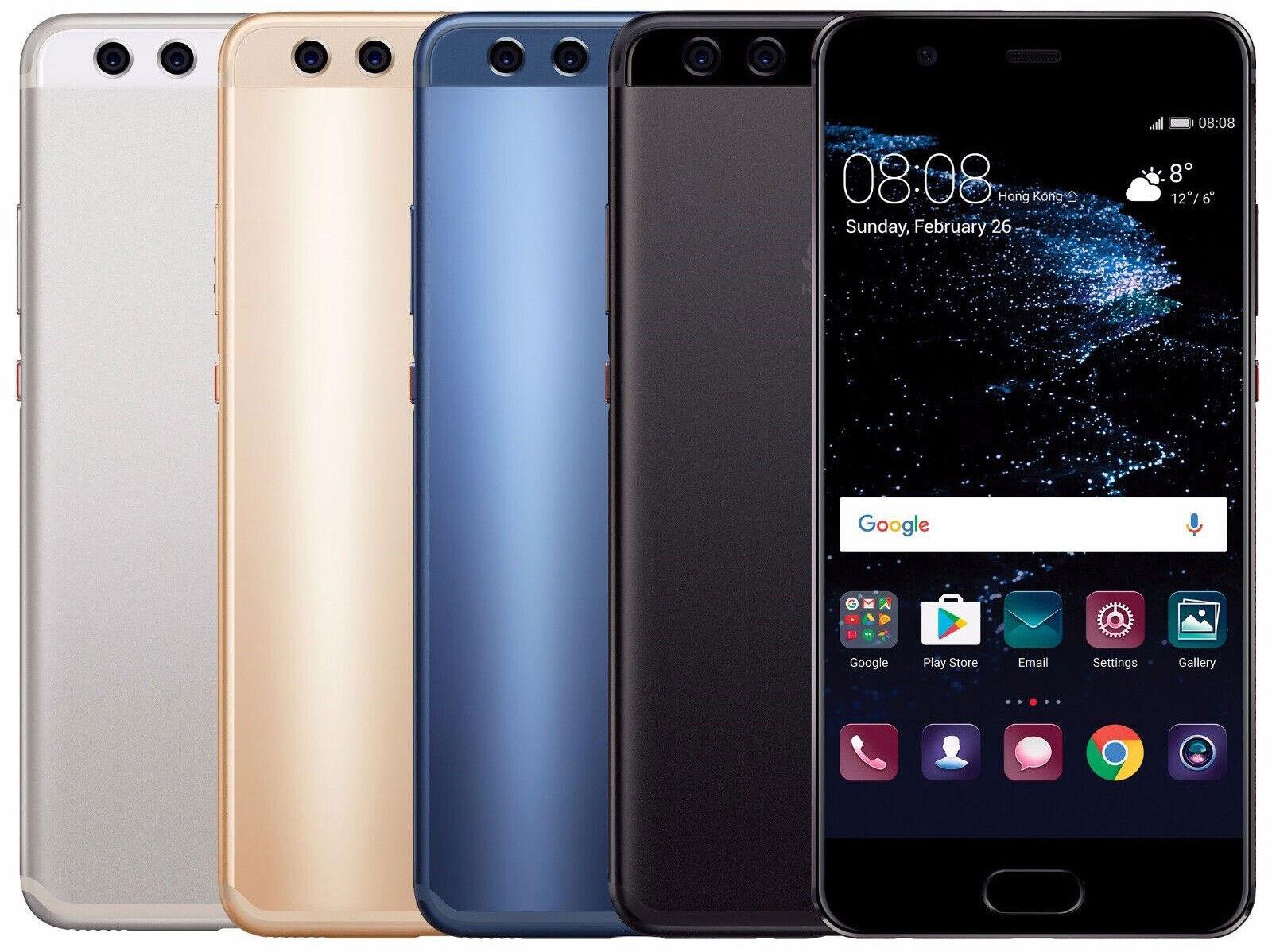 Huawei P10 / 32GB 64GB / Schwarz Blau Silber Gold / ohne Simlock 5,1 Zoll