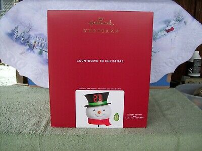 Hallmark Countdown to Christmas Tree Topper Snowman