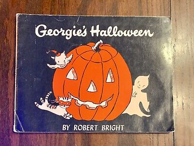 Vintage Georgie's Halloween by Robert Bright 1958 Doubleday & Company Paperback