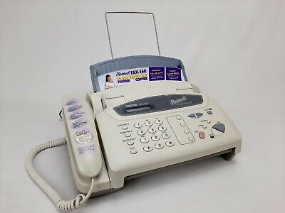 Brother Fax 560 Personal Plain Paper Fax Call Message Center Copier