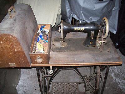 Alte Antike Nahmaschine Pfaff