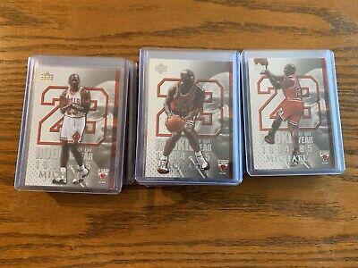 2005-06 Upper Deck Rookie Of The Year Michael Jordan 45 Card Set MJ1-MJ45