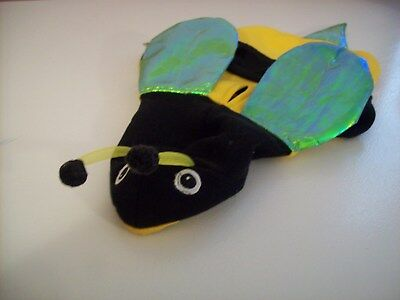 Bootique Bumble Bee Hoodie Dog Costume, Size XS (Bumble Bee Costumes For Dogs)