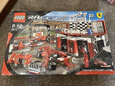 Lego Racers Ferrari Finish Line (8672)