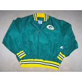 Vintage GREEN PACKERS  Starter Jacket Green & gold Size X large (XL) NFL