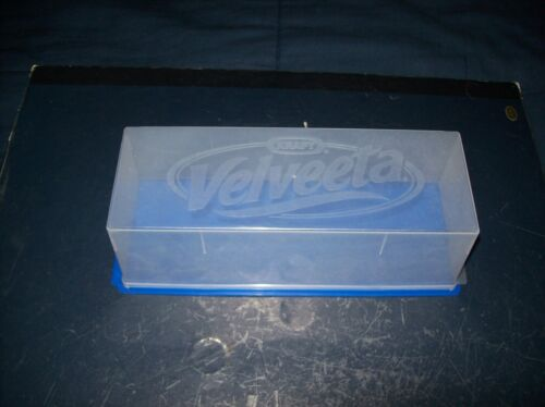 KRAFT VELVEETA CHEESE KEEPER CONTAINER WITH CLEAR LID GOOD CONDITION