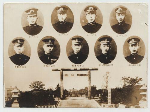 WW2 JAPAN KAMIKAZE 9 SUBMARINE ATTACK UNIT PHOTO YASUKUNI US PEARL HARBOR HAWAII