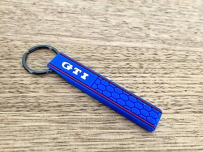 VW Volkswagen Golf Polo GTI Soft Keychain Sports Car Turbo GTD