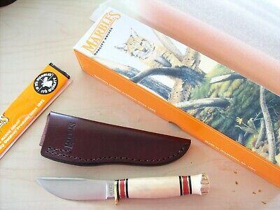 Marbles Knife Gladstone Mi. U.S.A. Fieldcraft Stag on Stag UNUSED Orig.Case Box