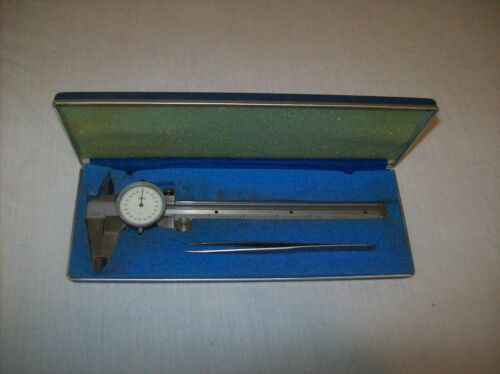 Central Tool Co. Dial Caliper - Hardened Stainless Steel - Original Box