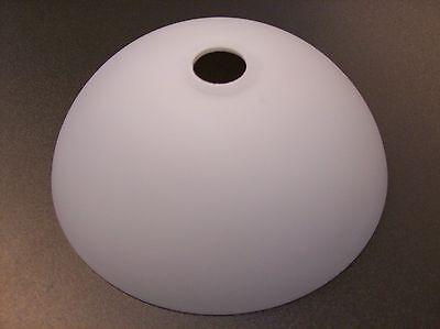 Glas Lampenschirm Ersatzglas Schale weiß G4 Lochmaß Fassung ø 22mm