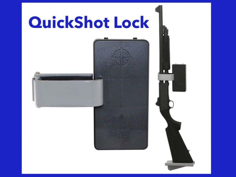 QuickShot Shotgun Lock_SEE VIDEO_Home Security Wall Mount_RFID_QuickSafes_USA