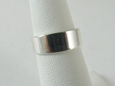 New Wholesale Toe Ring 925 Sterling Silver Plate Fashion Jewelry Wide Band](Wholesale Plates)