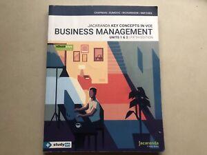 📚 Jacarandia key concepts business management VCE unit 1/2 📚