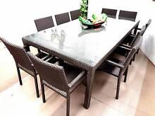 Outdoor Furniture SUMMER DEALS Wicker Rattan WeatherProof Quality Berwick Casey Area Preview