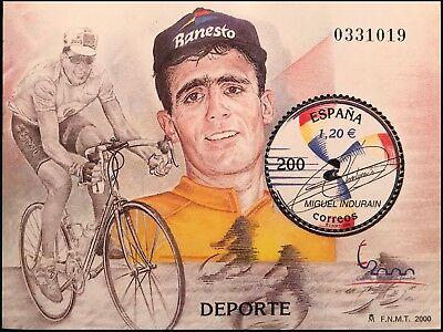 2000 Sello - Exposición Mundial de Filatelia. Deporte. España 2000. Madrid