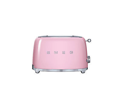 Smeg TSF01PKEU 50's Retro Style, Toaster, 2 Scheiben, Cadillac Pink