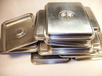 8 Regethermic 14 Stainless Steel Hotel Restaurant Steam Table Pan Pot Cover Lid