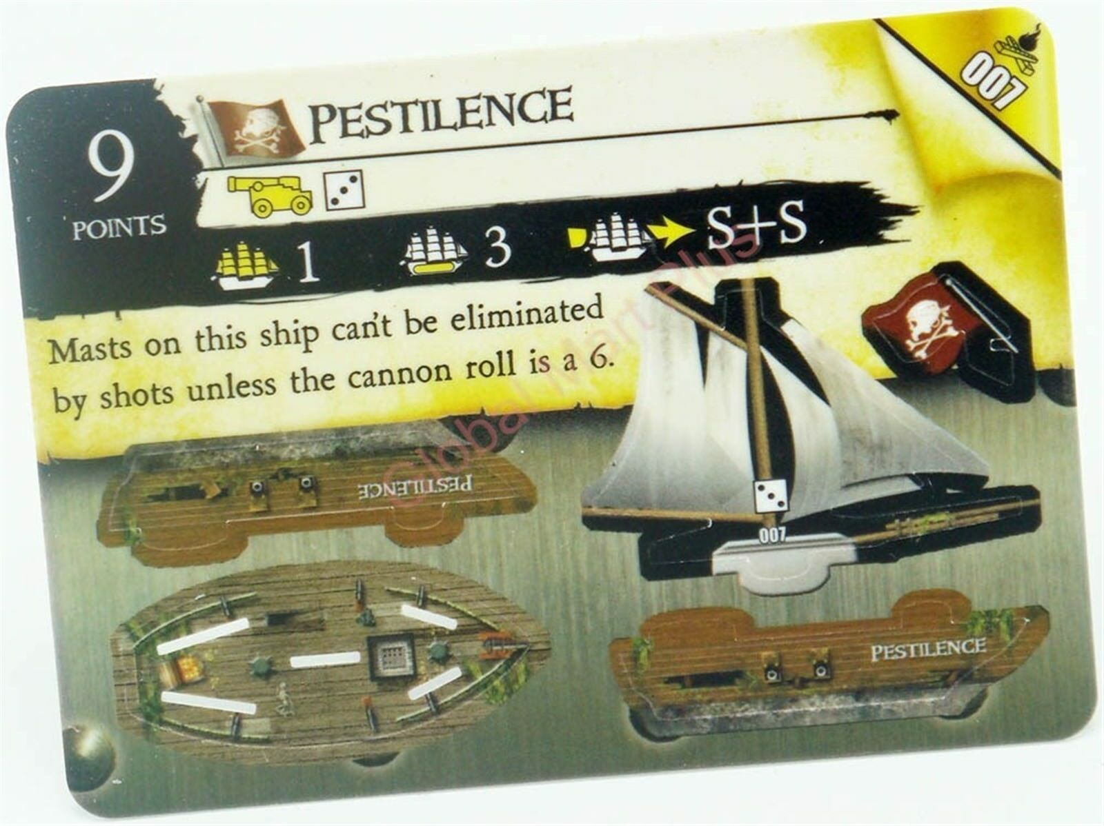 Pirates Pocketmodel FIRE /& STEEL 081 USS Shark