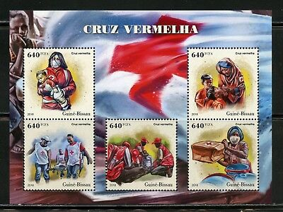 GUINEA BISSAU  2018  RED CROSS   SHEET MINT NH