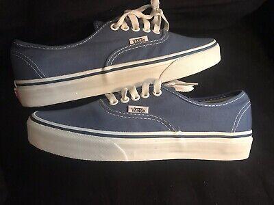 Vans Authentic Skate Shoe - Navy Blue