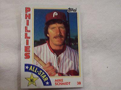 1984 Topps Baseball Mike Schmidt #388 - All Star