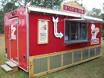 Ready To Work 2014 - 8 X 18 Cargo Mobile Kitchen Unitfood Concession Trailer