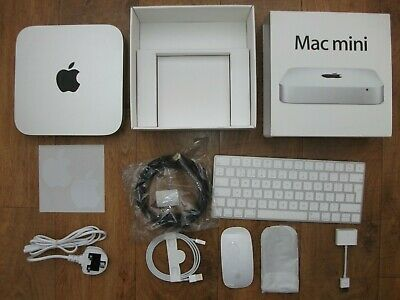 Apple Mac Mini with SSD Dual Drive ,8GB memory& rechargable Keyboard & Mouse