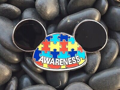 Autism Awareness Acceptance Mickey Mouse Ears Fantasy Disney Pin